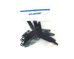 Gemfan 5030 5x3 3-Blatt Propeller - Schwarz (2xCW, 2xCCW)