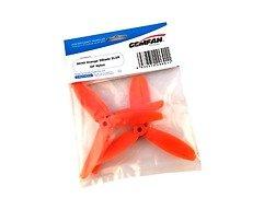 Gemfan 5040 5x4 Glasfaser Nylon 3-Blatt-Propeller - Orange (2xCW, 2xCCW)