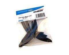Gemfan 5045 5x4,5 Glasfaser Nylon 3-Blatt-Propeller - Schwarz (2xCW, 2xCCW)