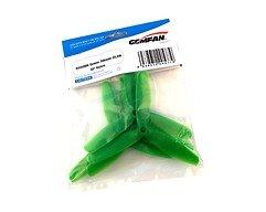 Gemfan 5050 5x5 Glasfaser Nylon 3-Blatt-Propeller - Grün (2xCW, 2xCCW)