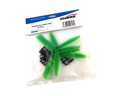 Gemfan 6040 6x4 Glasfaser Nylon 3-Blatt-Propeller - Grün (2xCW, 2xCCW)