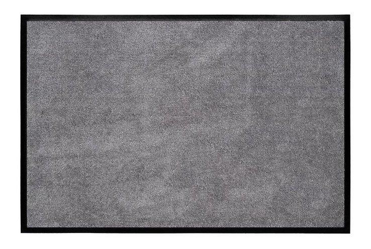 Gift Company Fußmatte waschbar 50 x 75 cm anthrazit