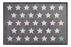 Gift Company Fußmatte waschbar Polka Stars 50 x 75 cm grau weiß