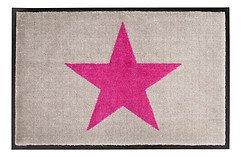 Gift Company Fußmatte waschbar Star 50 x 75 cm beige pink