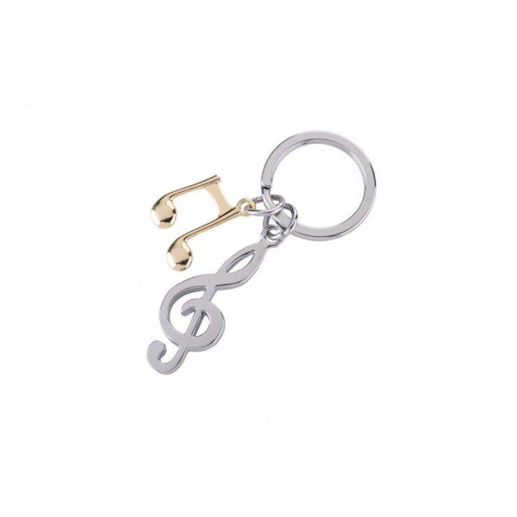 Gift Company Schlüsselanhänger Notenschlüssel Metall - Pic 1