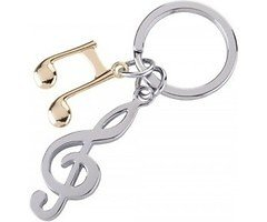 Gift Company Schlüsselanhänger Notenschlüssel Metall