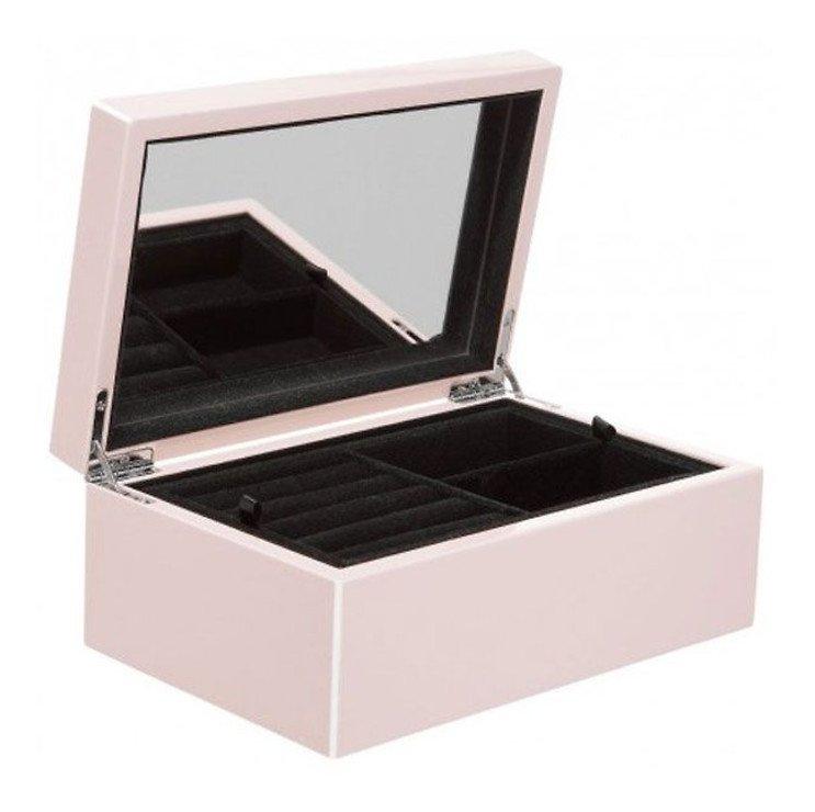 Gift Company Schmuckbox Tang S mit Spiegel 22 cm rosa - Pic 1