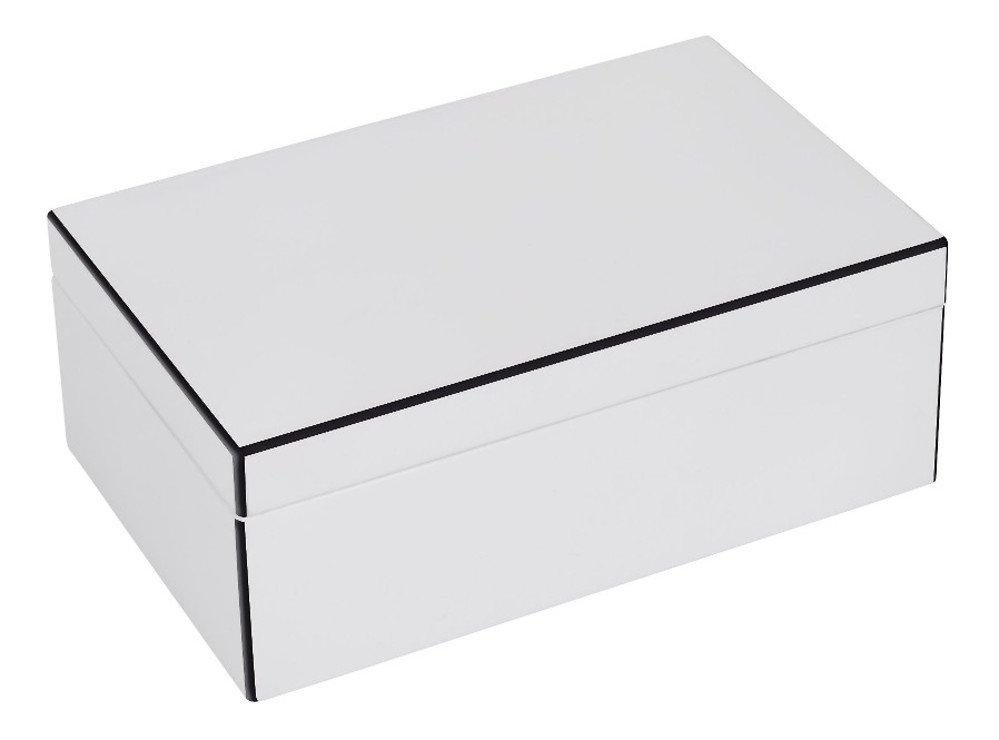 Gift Company Schmuckbox Tang S mit Spiegel 22 cm weiß - Pic 2