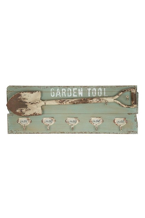 Gift Company Garderobe CAPTIVA Garden Tool mit 5 Haken - Pic 1