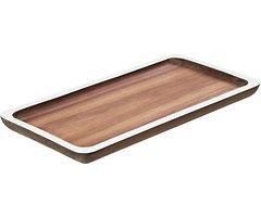 Gift Company Tablett Tagliata S Akazie 32 x 16cm weiß