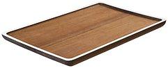Gift Company Tablett Tagliata L Akazie 50 x 32cm weiß