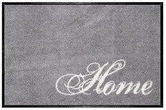 Gift Company Fußmatte Home waschbar 75 x 50cm grau