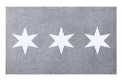 Gift Company Fußmatte Stars waschbar grau 80x120cm