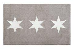 Gift Company Fußmatte Stars waschbar schlamm 80x120cm