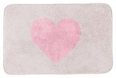 Gift Company Badematte Herz beige/rosa 50 x 80cm