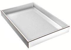 Gift Company Tablett Tang 35 x 50cm weiß