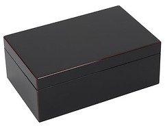 Gift Company Schmuckbox Tang mit Spiegel schwarz 22 cm