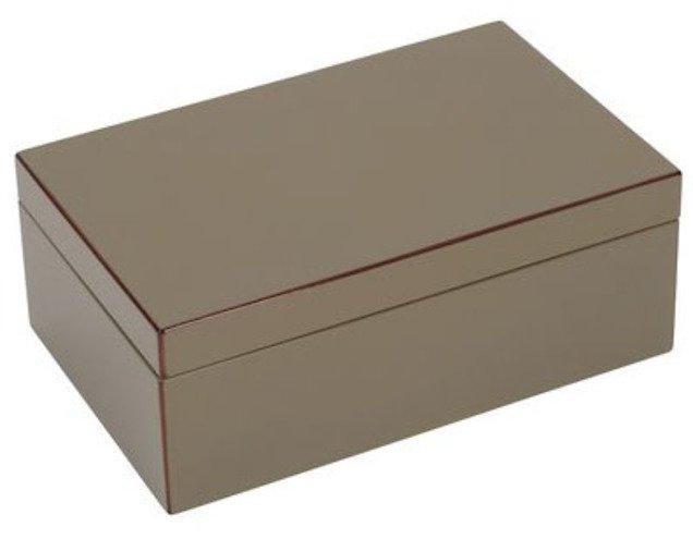 gift company schmuckbox tang mit spiegel 22 cm schlamm kaufen. Black Bedroom Furniture Sets. Home Design Ideas