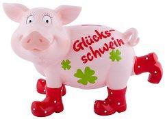 Gift Company Spardose Glücksschwein