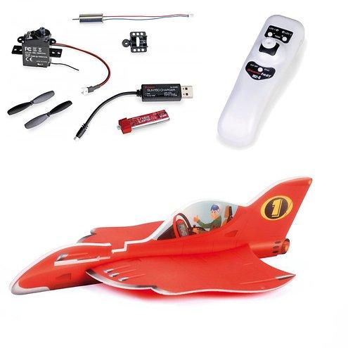 Graupner Leichtbau Racer Set Tricky Ricky mit Vector Unit und MZ-4 HoTT
