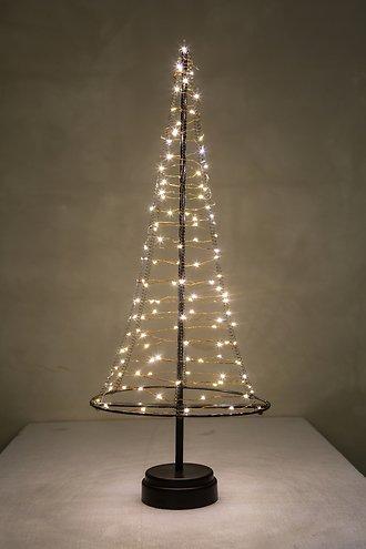 christmas united led weihnachtsbaum 120 led innen 50cm metall kupfer kaufen. Black Bedroom Furniture Sets. Home Design Ideas
