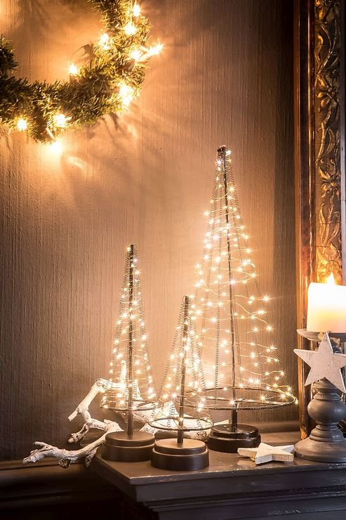 christmas united led weihnachtsbaum 60 led innen 32cm. Black Bedroom Furniture Sets. Home Design Ideas