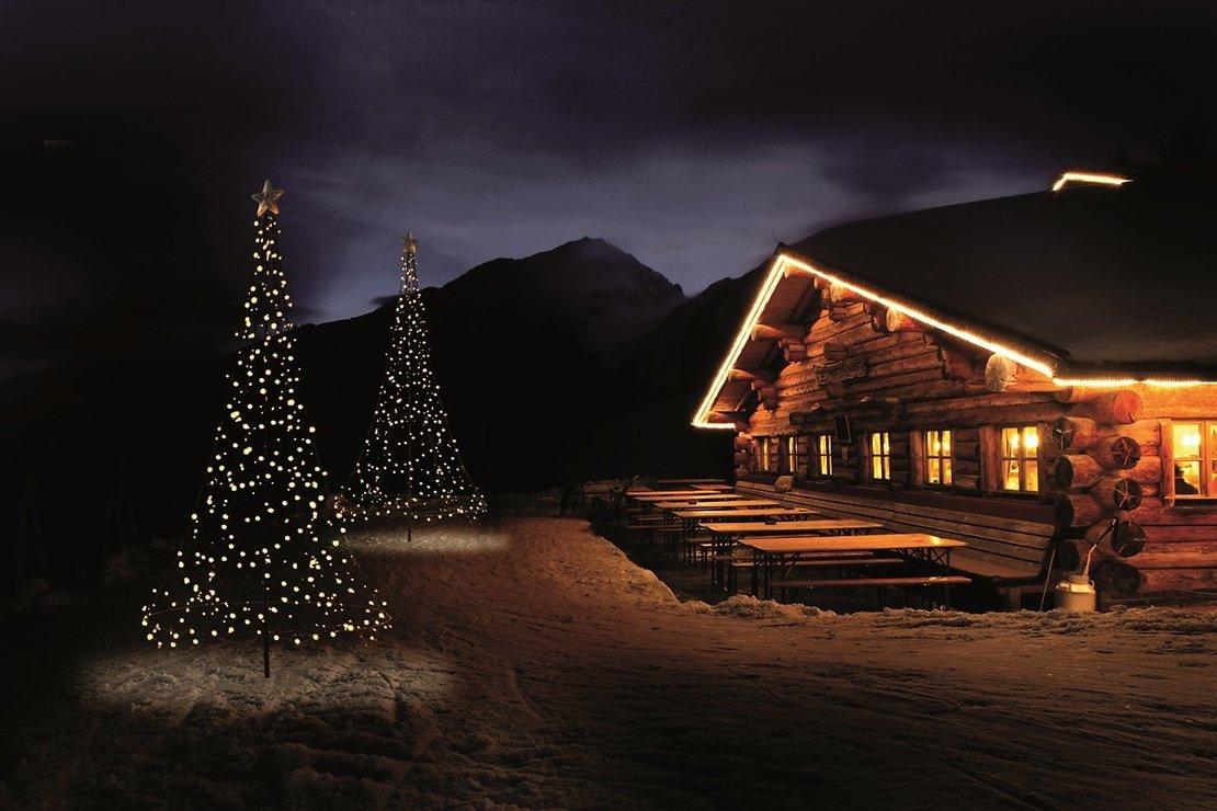 Fairybell LED Weihnachtsbaum 360 LED warmweiß 3 m außen - Pic 2