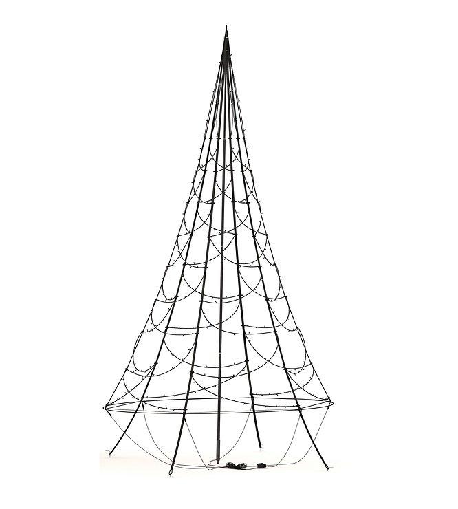 Fairybell LED Weihnachtsbaum 360 LED warmweiß 3 m außen - Pic 3