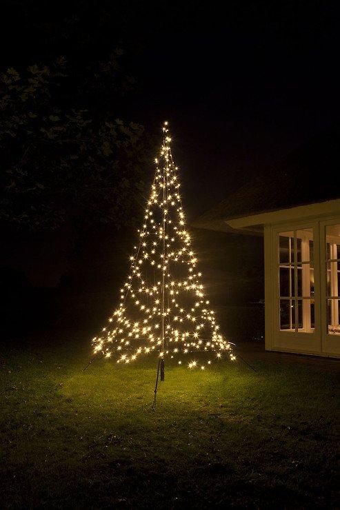 Fairybell LED Weihnachtsbaum 360 LED warmweiß 3 m außen - Pic 1