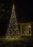 Fairybell LED Weihnachtsbaum 640 LED warmweiß außen 4,2m