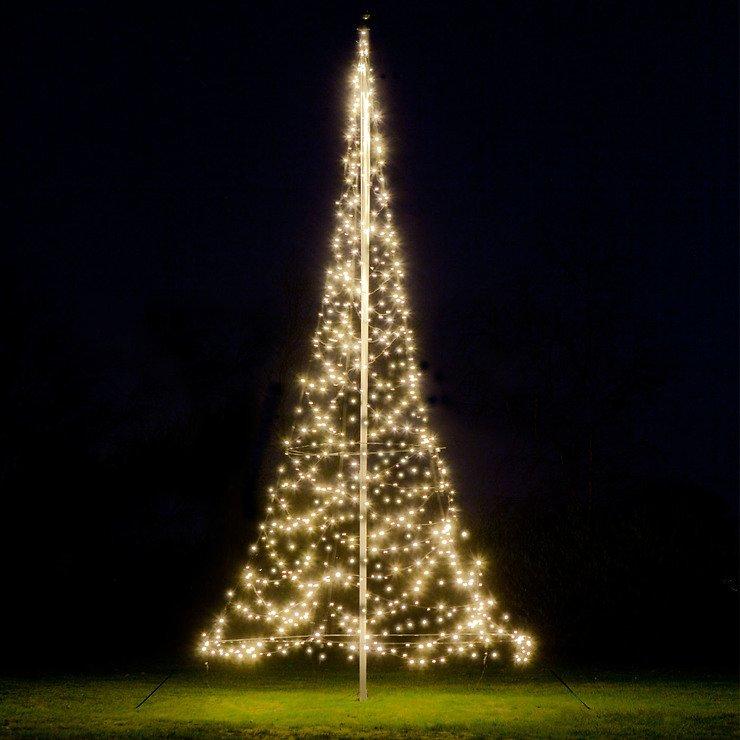 Fairybell LED Baum Fahnenmast 600 LED warmweiß außen 6m - Pic 1