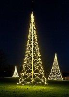 Fairybell LED Baum Fahnenmast 1200 LED warmweiß außen 8m