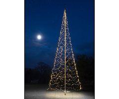 Fairybell LED Baum Fahnenmast 2000 LED warmweiß außen 10m