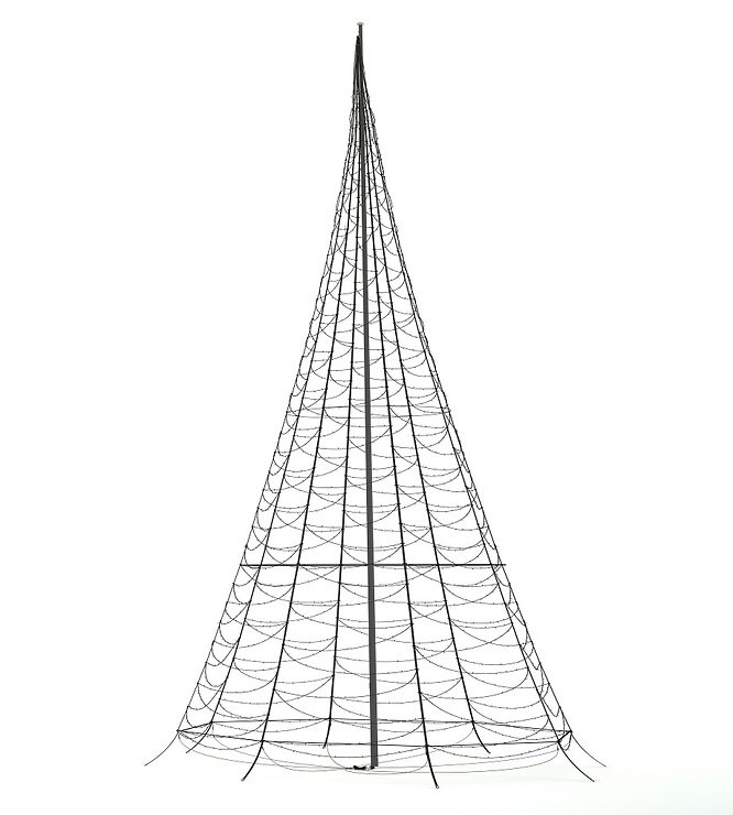Fairybell LED Baum Fahnenmast 2000 LED warmweiß außen 10m - Pic 2