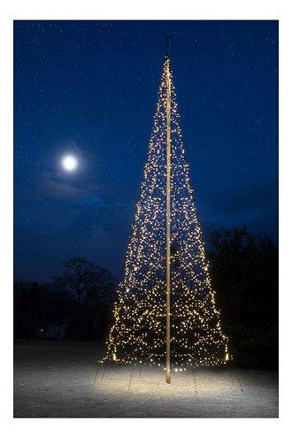 Fairybell LED Baum Fahnenmast 4000 LED warmweiß außen 10m