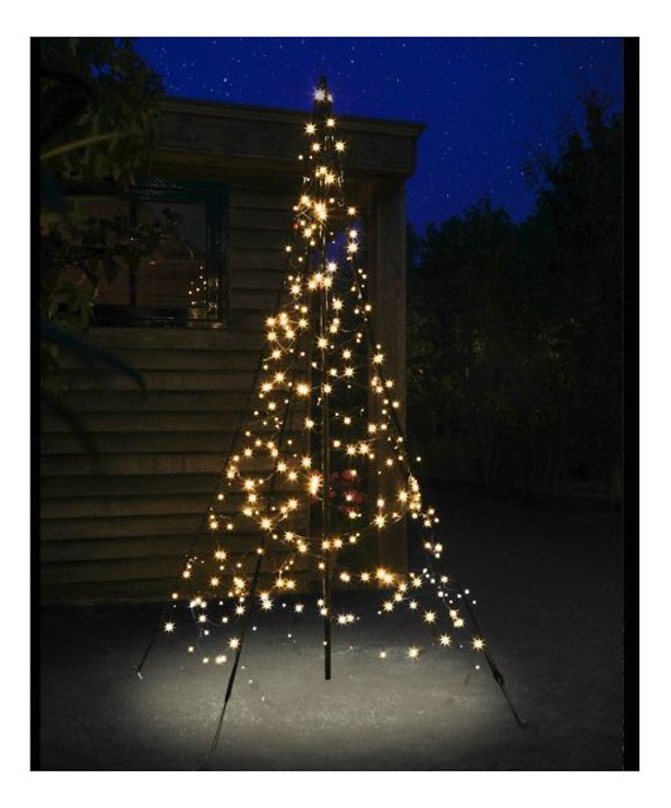 Fairybell LED Weihnachtsbaum 300 LED warmweiß 2m außen - Pic 1