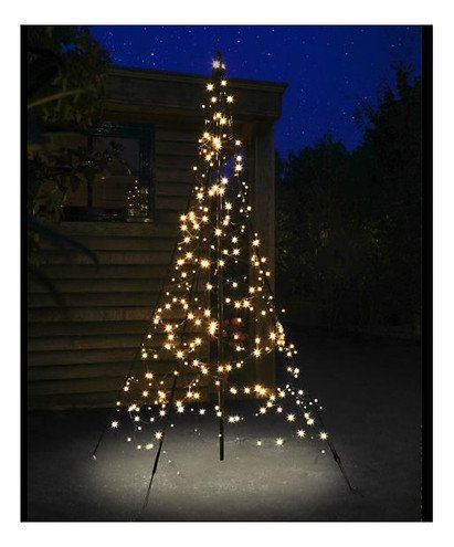 Fairybell LED Weihnachtsbaum 300 LED warmweiß 2m außen