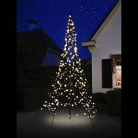 Fairybell LED Weihnachtsbaum 360 LED warmweiß 3m außen