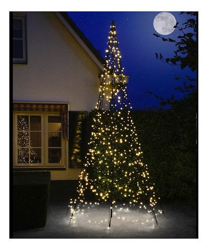 fairybell led weihnachtsbaum 640 led warmwei au en 4m. Black Bedroom Furniture Sets. Home Design Ideas