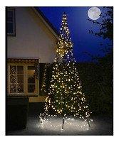 Fairybell LED Weihnachtsbaum 640 LED warmweiß außen 4m