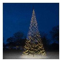 Fairybell LED Baum Fahnenmast 1500 LED warmweiß außen 8m