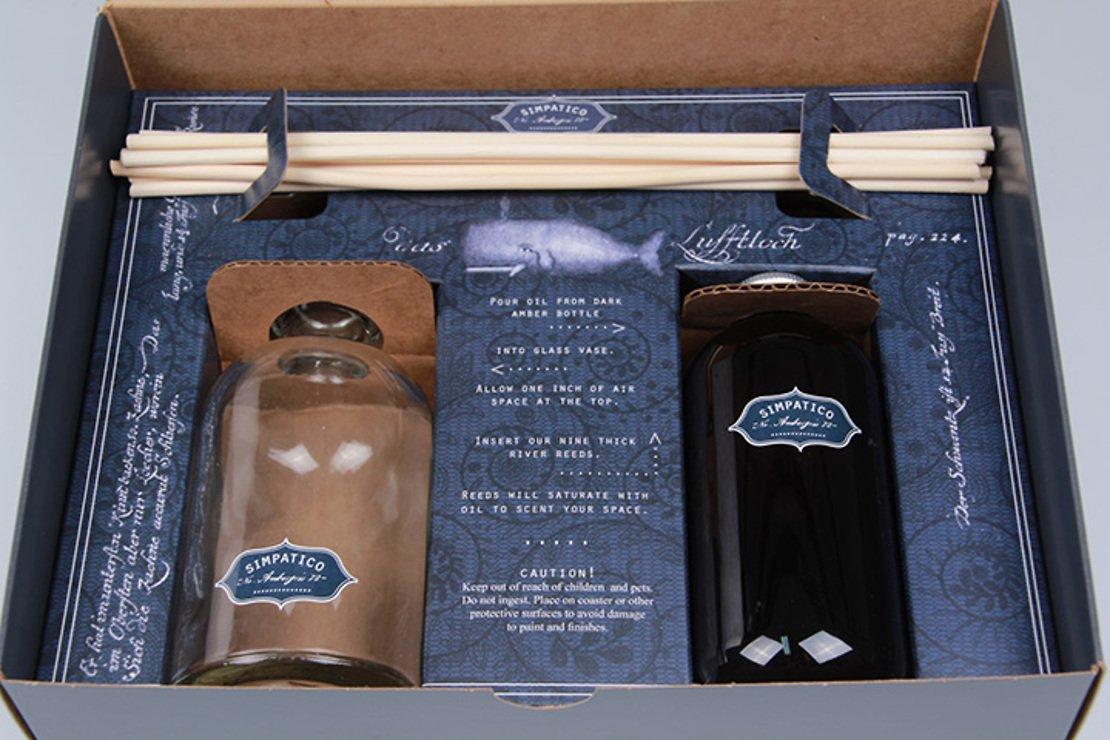 Simpatico Home Raumduft Geschenkbox Ambra Moschus 233 ml - Pic 2