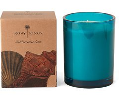 Rosy Rings Duftkerze im Glas Mediterrane Küste 85h