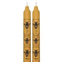 Skeem Kerzen handgefertigt 2er-Set Bee