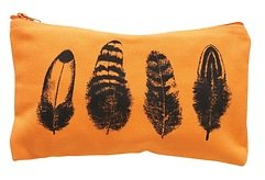 Vanilla Fly Kosmetiktasche Feather 23 x14 cm