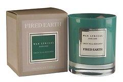 Fired Earth Duftkerze Grüner Tee Bergamotte 55 h