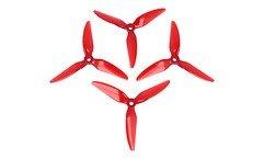 HQ Durable Prop 5151 Dreiblatt 5.1X5.1 1X3 Hell Rot 4 Stück PC FPV Propeller