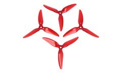 HQ Durable Prop 5048 Dreiblatt New 5X4.8X3V1S Rot 4 Stück PC FPV Propeller
