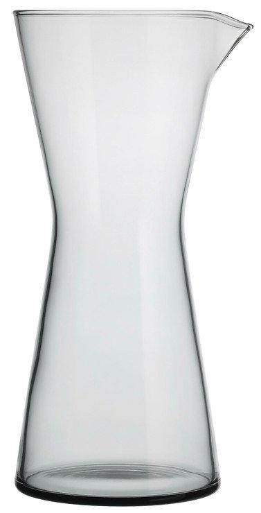 Iittala Glaskaraffe Kartio grau 95cl - Pic 1