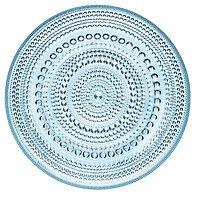 Iittala Glasteller Kastehelmi hellblau 17cm